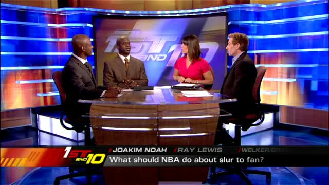 Joakim Noah (Lawrenceville School) talks to NBA about slur