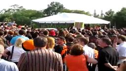 The P-rade Concludes with the Singing of Old Nassau! 2010