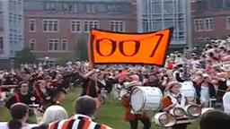 Entrance of Class of 2007, 2007 P-rade.