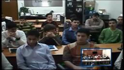Hun-Iraq Kufa University Students teleconference