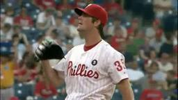 Phils Hamels Wins Over Dodgers