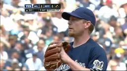 Yankees Sweep Brewers
