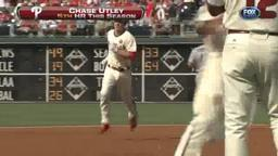Utley Pounds Padres