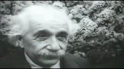 Einstein 'Winks' Princeton NJ original footage includes wink at 0:09
