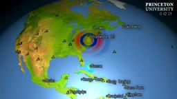 Earthquake Princeton ShakeMovie shows Virginia earthq