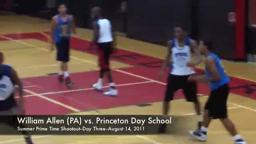 Princeton Day School Basketball Summer Prime Time Shootout 2011