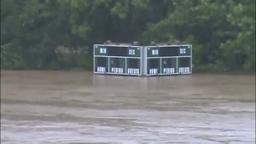 Hun School Underwater Athletic Fields, Hurricane Irene.