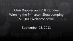 Princeton Show Jump Chris Kappler and VDL Dundee Winning