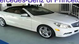 Mercedes Benz Princeton 2011 MERCEDES-BENZ E-CLASS Lawrenceville