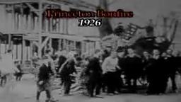 1926 Princeton Bonfire