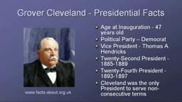 Grover Cleveland Princeton, TWICE US President
