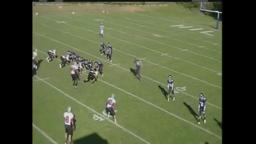 Hun Football Quashae Hendryx #44 Junior 2011 Highlight
