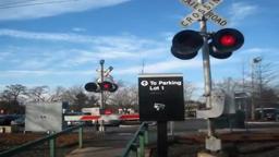Dinky at Princeton Junction December 23