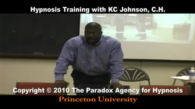 Hypnosis Training at Princeton University.