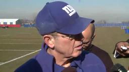Giants' Coughlin on Cowboys game