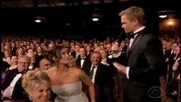 Brooke Shields Blooper at Tony Awards 2011 (Princeton '87)