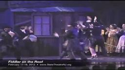 Fiddler on the Roof State Theatre New Brunswick 3/17