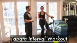 4-Minute Intense Fat Burning Cardio on Bike