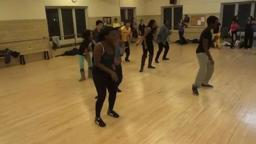Azonto dance with BAC Dance Company Princeton University