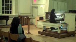 Westminster Choir College Shannon Murphy Vivaldi concerto