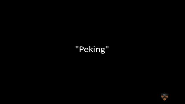 """Peking"" Circa 1928"
