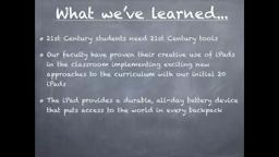 HunSchool iPad Initiative Princeton NJ