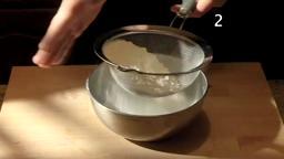Making Pizza Dough.