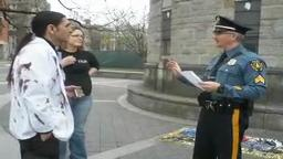 Police Officer Has Wrong Permit at Shame On You Princeton!