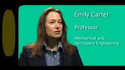 SustainableFuture Emily Carter Princeton