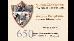 PrincetonCareerServices Connections Are Important: