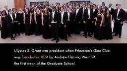 Princeton's Glee Club