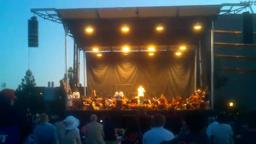 PU Orchestra at Reunions Fireworks Concert