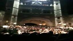 SweetCaroline Arch Sing Princeton graduates 2012