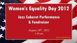 JazzBenefitWomen's Equality Day 2012 YWCA Princeton