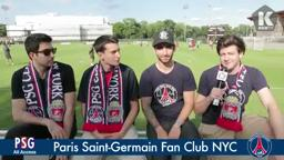 Paris St.Germain soccer Princeton NJ