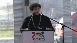 Eden Autism Services Education and Outreach Center Ribbon Cu
