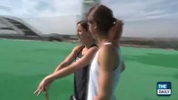 PrincetonOlympics Katie '13 & Julia Reinprecht '14 Field Hoc