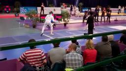 PrincetonOlympics Maya Lawrence Class of '02, fencing USA 2012