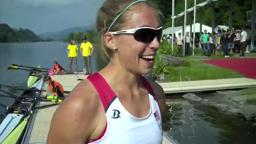 PrincetonOlympics Gevvie Stone '07, single sculls USA