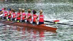 Womens Eight Winner's Boat Princeton's Caroline Lind