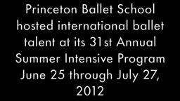 Princeton Ballet School Summer Intensive 2012