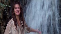 Brooke Waterfall 1983 (Brooke Shields Princeton '87) Waterfall Scene 1983