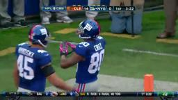 Giants Bop Browns