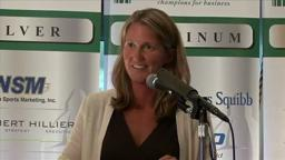 SeptemberLuncheon 3 Courtney Banghart Princeton B-Ball Coach