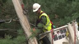 RestorePowerSandy Ameren crews in Princeton, New Jersey,