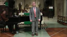 Adam Phillips sings,