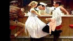 Yankee Doodle Nassau Inn Princeton by Norman Rockwell