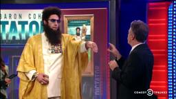 'The Dictator' Lawrenceville, General Aladeen on Jon Daily Show (LawrenceGrad)