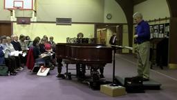 VerdiRequiemSanctus rehearsal BCCS