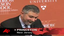 Nobel Prize 2008 Paul Krugman Princeton University professor